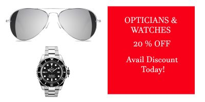 OPTICIANS & WATCHES