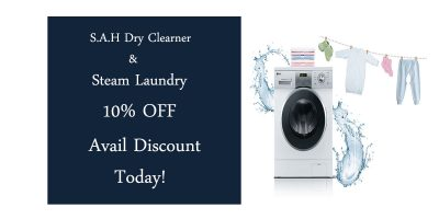 S.A.H Dry Clearner and steam laundry