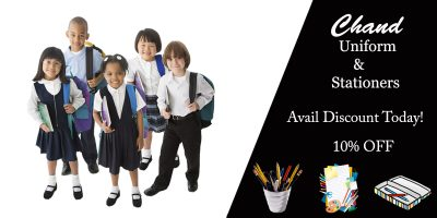 chand uniform and stationers