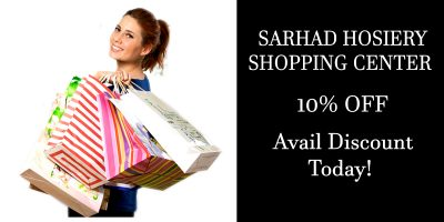 SARHAD HOSIERY SHOPPING CENTER