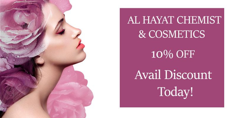 al hayat chemist and cosmetics
