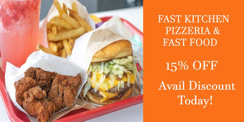 fast kitchen pizzeria and fast food