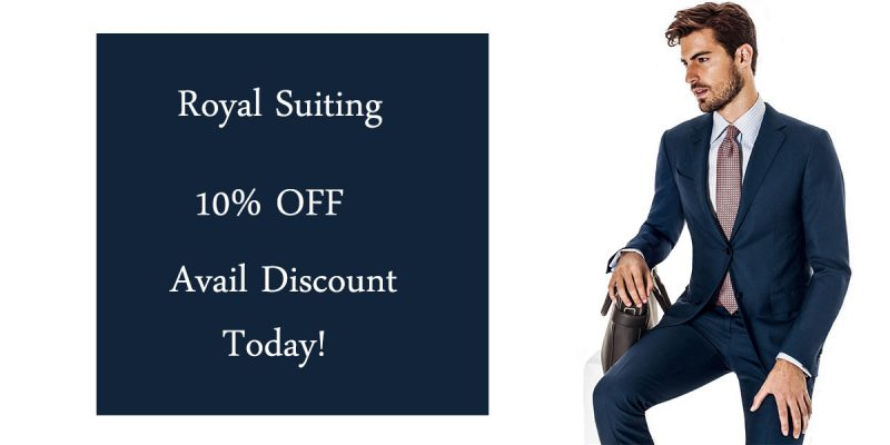 royal suiting