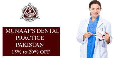 munaaf's dental practice pakistan